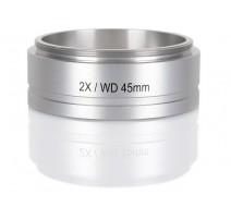 Delta Optical 2x padidinimo lęšis (skirtas SZ-630) Mikroskopų priedai Delta Optical