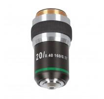 Delta Optical 20x achromatinis lęšis (skirtas Genetic Pro)