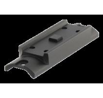 Aimpoint Micro H-1 laikiklis Ruger MKIII šautuvui Taikiklių montavimui Aimpoint
