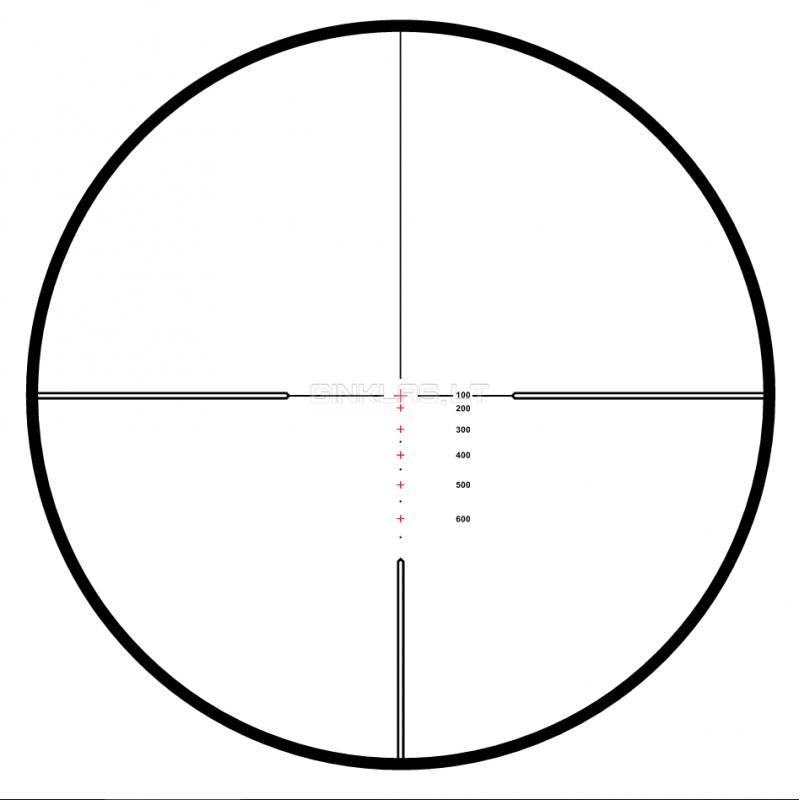 Hawke Endurance 30 Sf 6 24x50 223 308 Riflescope